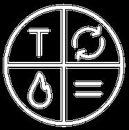 White logo shield not text