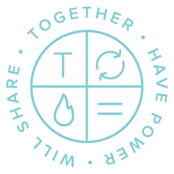 Together digital Logo shield