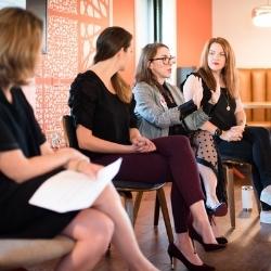 Panel speakers Columbus event