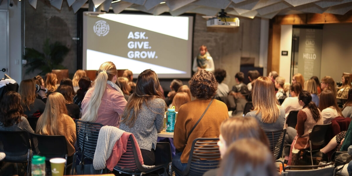 Ask and Give session at the 2020 Digital Trends meetup